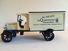 ERTL 1925 Kenworth Truck Bank 1:25 w/ Locking Coin Bank Quakertown Natl Bank