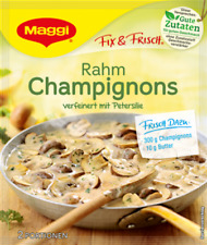10 Bags of German Maggi Rahm Champignons (Cream Mushrooms) , Best By Date Sale