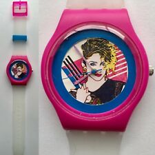 Classic 80s Madonna Art watch - Retro 80s designer watch