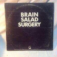 Vintage Brain Salad Surgery Record Vinyl Album