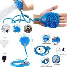Pet Shower Cleaning Supplies With 2 Hose Faucet Adapter, Dog Bathing Tool Adjust
