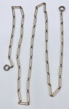Long Two Foot Gold Filled Pocket Watch Chain