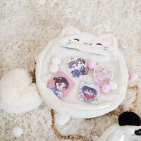Transparent shoulder ita Bag Handbag Japanese for Badge Lolita Backpack Animal