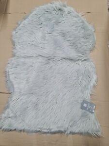 Large Faux Fur Sheepskin Rug Fluffy Mat Room Sofa Bed Hairy Shaggy 60x90cm