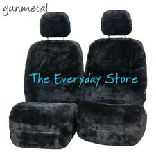 Ford Territory All Years Genuine Sheepskin Car Seat Covers Pr 22MM Air Bag Safe