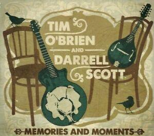 Tim O'Brien and Darren Scott - Memories and Moments [CD, 2013]