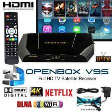 GENUINE OPENBOX V9S FHD UK Freesat Smart TV Digital Satellite Receiver Box WIFI