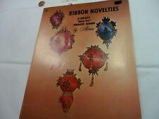 Vintage Ribbon Novelties Craft Book
