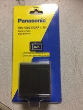 PANASONIC VW-VBG130PP1 Battery Pack Sealed For VDR-D50 Camcorder