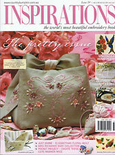 INSPIRATIONS MAGAZINE issue 59  pattern attached BEAUTIFUL EMBROIDERY