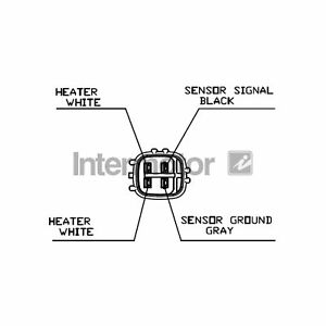 For Toyota Picnic XM10 2.0 16V Genuine Intermotor Lambda Sensor
