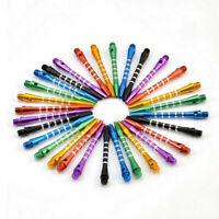 6 PCs Aluminum Darts 2ba Shafts 6 Colors Medium Harrows Y4Q7 Dart Stems Thr X1Y7
