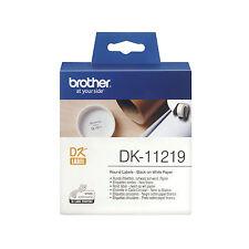 ORIGINALI 1200 ETICHETTE BROTHER DK-11219 12 MM PER P-Touch QL560 QL710W QL720NW