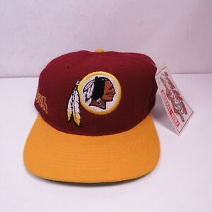 VTG 90's American Needle Washington Redskins NFL  Snapback Hat Rare Street Art