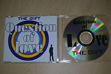 The Gift – Question Of Love. CD-Single promo