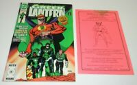 Green Lantern #19 Comic DC SIGNED Mart Nodell Heroland VARIANT CoA Alan Scott