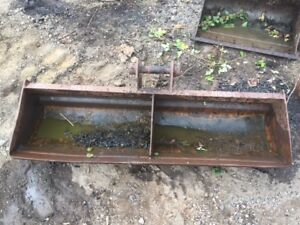 1.5m width ditching bucket that's suitable for CAT, JCB, Kubota, Kobelco H4501