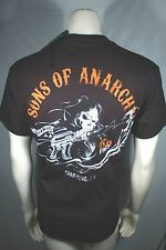 Sons Of Anarchy Soa Carga Segador 2 Sided Hoz Samcro Rock Camiseta S-3XL