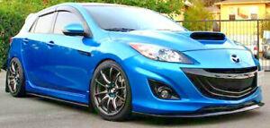 Fits Mazda 3 BL Hatchback (10-13) Sp25 - Weathershields Side Window Visors 4pcs