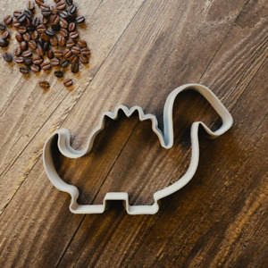 Dinosaur Stegosaurus Cookie Cutter - 3 Sizes
