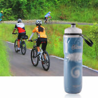 710ml Portable Outdoor Insulated Water Bottle Bike Bicycle Cycling Sport Cup New