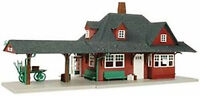 Atlas HO Scale Model Railroad Building Kit Passenger Train Station