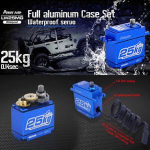 POWER HD LW-25MG Waterproof FULL Aluminum Digital Servo  347.2 oz/in : TRX-4