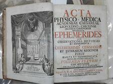 1742 - NORIMBERGA – ACCADEMIA FISICO-MEDICA VOLUME SESTO