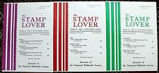 Stamp Lover Magazine – Near Full Set 1968 (5 issues) Jammed with Info  (St-4)