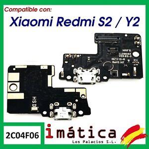 PLACA DE CARGA PARA XIAOMI REDMI S2 / Y2 CONECTOR USB ANTENA MICROFONO PUERTO