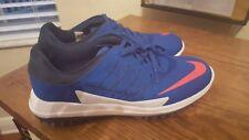 Nike Lunar Control Vapor Mens Golf Shoes Blue White Jay Red Pink 849971-401 Sz 9