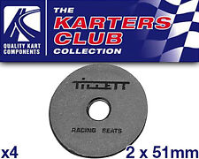 Go Kart Tillett Washer 2mm x 51mm Nylon x 4 Karting Race Racing