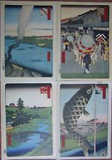 UKIYO-E x 8,UKIYOE,VIEWS,LANDSCAPE,EDO,HIROSHIGE,#1