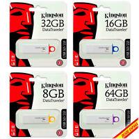 Pendrive Memoria USB 3.0 Kingston DTGI4 G4 8/16/32/64/128GB Unidad Flash Drive