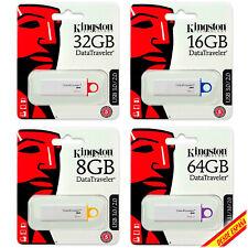Pendrive Memory USB 3.0 Kingston DTGI4 G4 8/16/32/64 / 128GB Unity Flash Drive