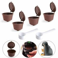 4 x Refillable Reusable Compatible Coffee Capsules Pods for DOLCE GUSTO Machine