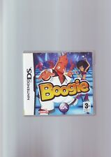 BOOGIE - NINTENDO DS GAME / LITE DSi 3DS COMPATIBLE - FAST POST- WITH MANUAL VGC