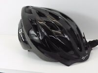 "Fahrrad Helm ""SPARK"" Jugend – Erwachsene 54-58 cm Schwarz Glänzent Top neu 16129"