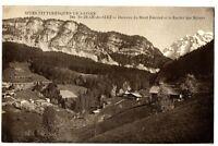 CPA 74 Haute-Savoie Saint-Jean-de-Sixt Hameau du Mont Duroud Rocher des Mézers