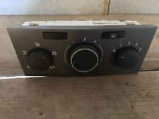 VAUXHALL ASTRA Mk5 1.6 TWINPORT HEATER  A/C AIR CONDITIONIN AC CONTROLS 13201298