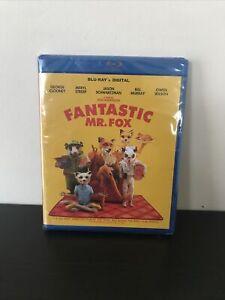 Fantastic Mr Fox Blu Ray (No Digital) Brand New In Wrap!