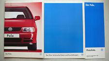 Prospekt Volkswagen VW Polo, 1.1996, 60 Seiten + Daten/Ausstattungen +Preisliste