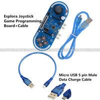 Esplora Joystick Game Programming 5V Atmega32U4 Develope Board for Arduino+Cable