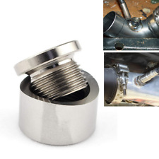 """1/8"""" NPT to M18x1.5 Male Stainless Steel Exhaust Pipe Oxygen Sensor Adapter"""