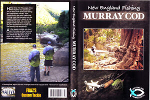 New England Fishing Murray Cod DVD Excellent Condtition