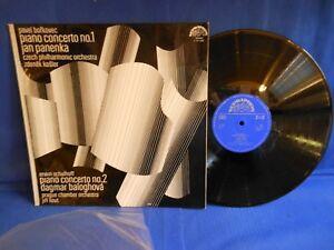 PANANKA BORKOVEC KOSLER SCHULHOFF BALOGHOVA 101205 SUPRAPHON 1972 EXC+