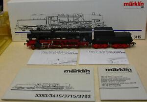 Märklin +++ 3415 +++ Dampflokomotive BR52,  Delta