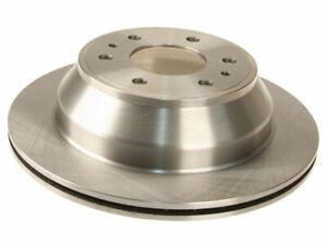 Rear AC Delco Silver (Advantage) Brake Rotor fits GMC Envoy XUV 2004-2005 89WTBR