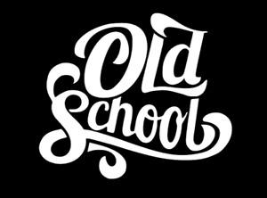 Old School vinyl decal/sticker  funny retro classic window laptop truck car jdm