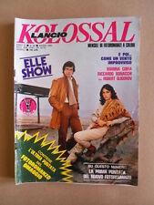 KOLOSSAL n°88 1982  Rivista Fotoromanzi Lancio [M15]